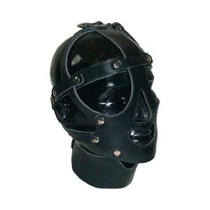 Mister B Leather Face Harness