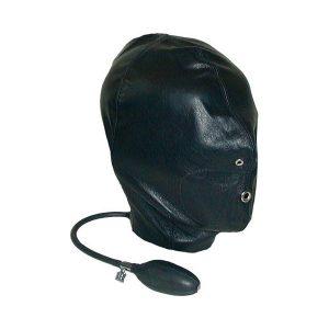 Mister B Leather Inflatable Hood