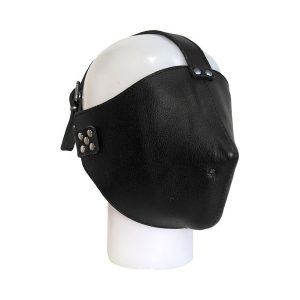 Mister B Closed Leather Face Mask