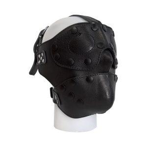 Mister B Detachable Leather Face Mask