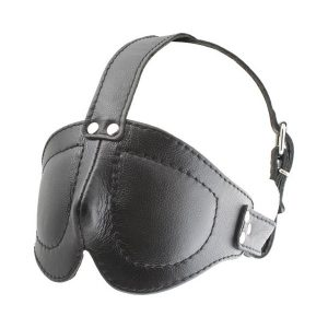 Mister B Deluxe Blindfold With Straps