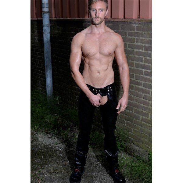 Rubber shorts and pants Chaps