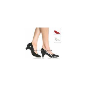 Closed pumps, 2 inches flat heel