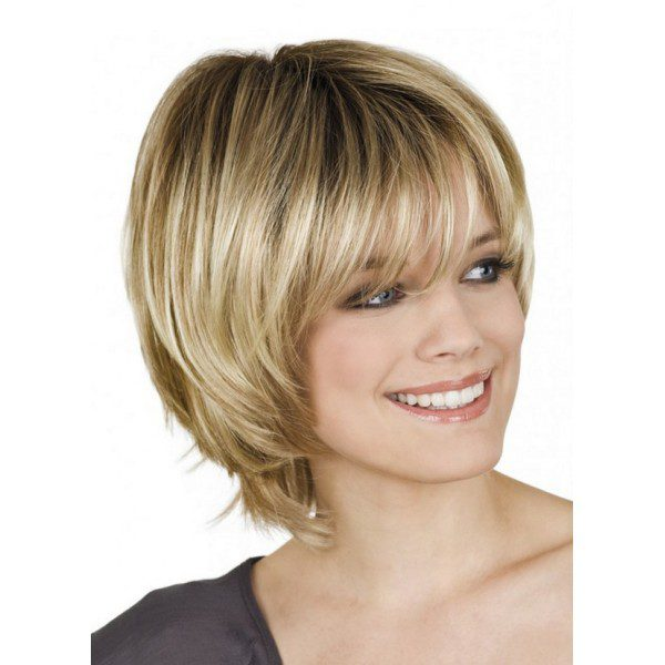 Laguna New - light-brown wig, mid-lenght