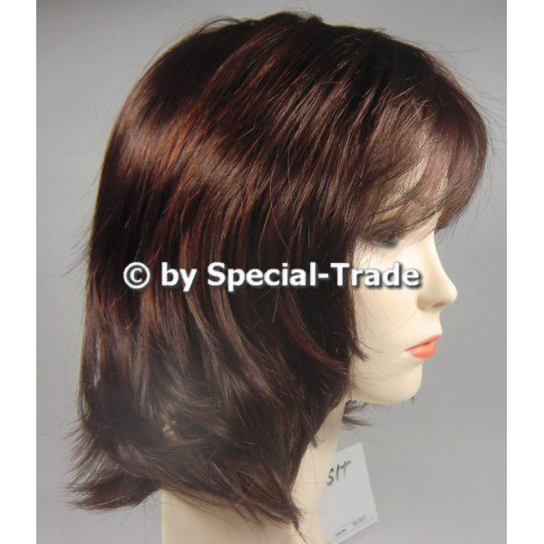 Laguna New - Dark-brown wig, mid-lenght