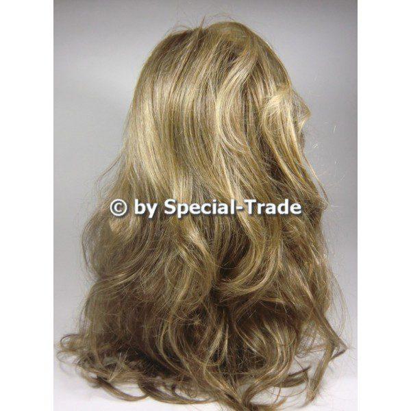 Techno Carmen - a long hair wig, light brown