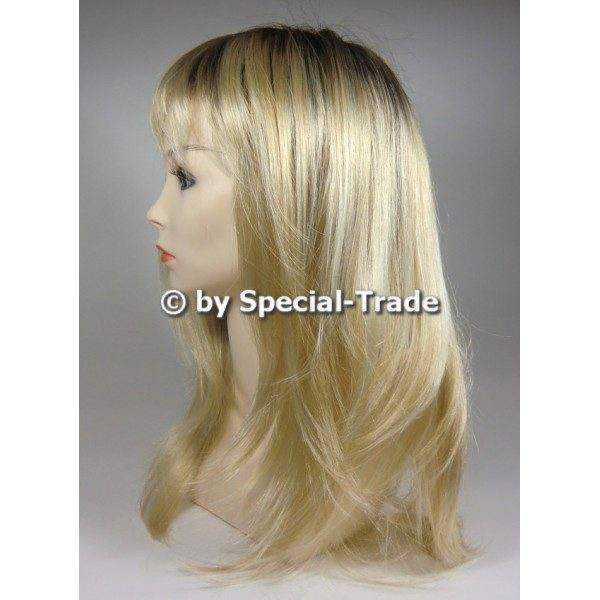 Farah II - a long hair wig, blonde color