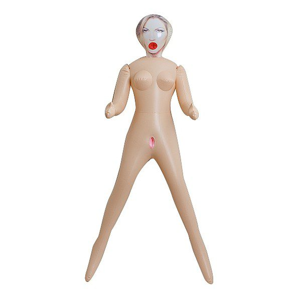 3-Hole Doll - Janine - With Actual Face