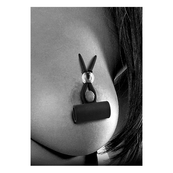 Vibrating Silicone Nipple Lassos